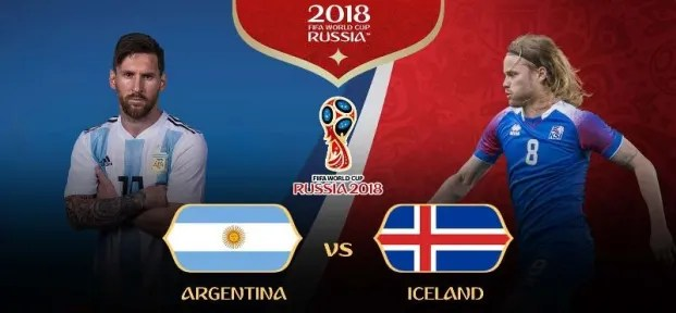 Piala Dunia 2018 - Argentina vs Islandia