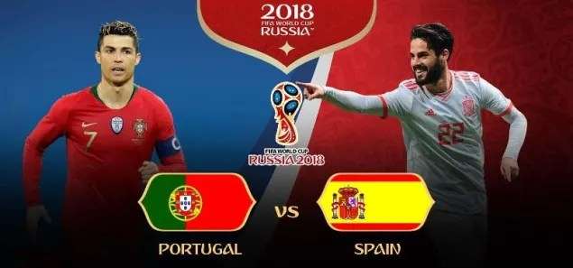 Piala Dunia 2018: Portugal vs Spanyol