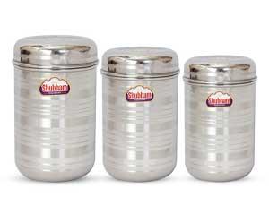 Shubham Kitchen Storage Steel Container