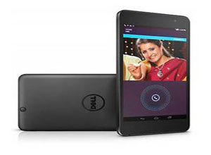 Dell 3741 Venue 7 Android Tablet with Voice Calling Black
