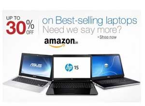 Laptops upto 40% off
