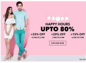 Clothing Footwear Accessories & Home upto 80% off