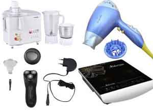 Kitchen Appliances & Personal Grooming Extra upto 70% Cashback