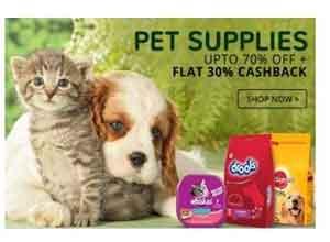 Pet Supplies Extra 30% Cashback