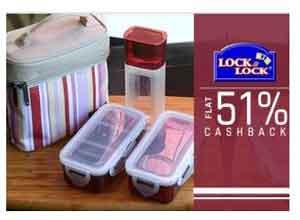 Lock & Lock Extra 51% Cashback