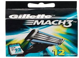 Gillette Mach3 Blades – 12 Cartridges at Lowest Online