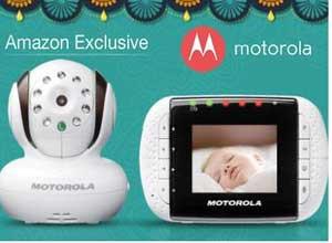 Get upto 54% off Motorola Baby Monitors