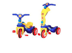 Playtool Multi Tricycle Cum Scooty 2 In 1 Scooter