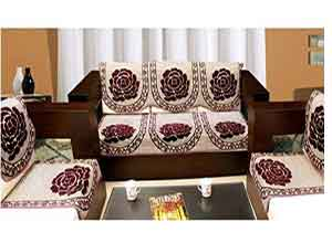 Zesture 6 pieces sofa and chair cover set