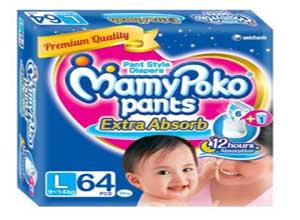 MamyPoko Large Size Pants