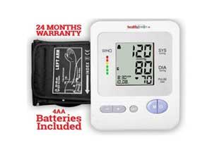 Healthgenie BP Monitor digital Upper Arm BPM