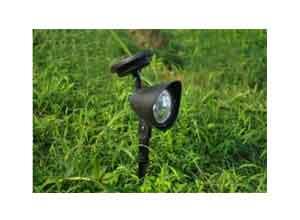 Quace 3-LED Solar Power Garden Lamp Spot Light