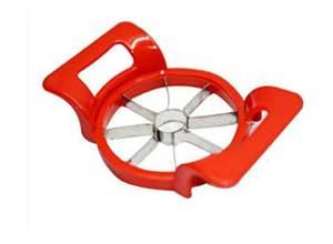 Shri Krishna Red Plastic Apple Cutter