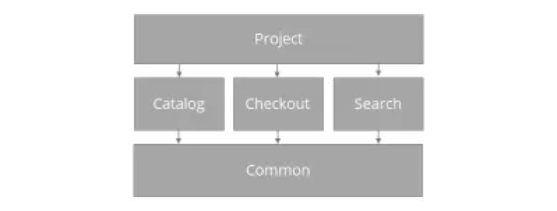 An overview of an modularized project example