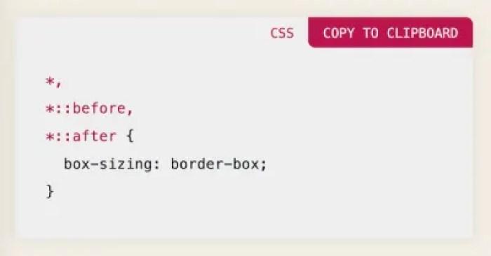 Réinitialisation CSS