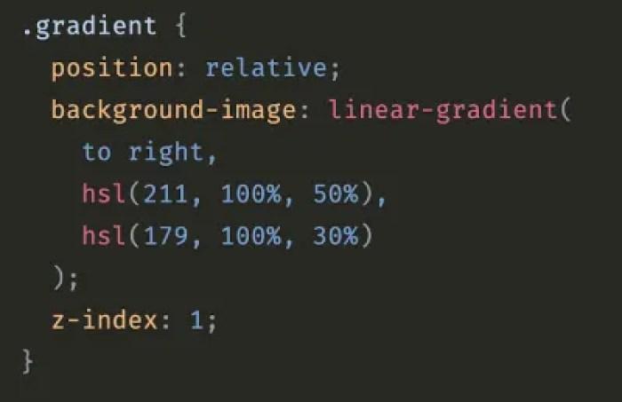 Transition des dégradés CSS