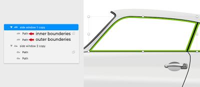Capture d'écran des étapes décrit dans le paragraphe précédent du tutoriel.