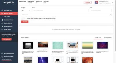 ImageKit Media Library