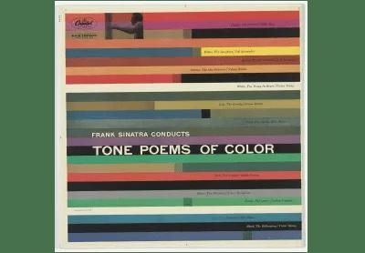 Album pochette de «Tone Poems of Color» de Frank Sinatra