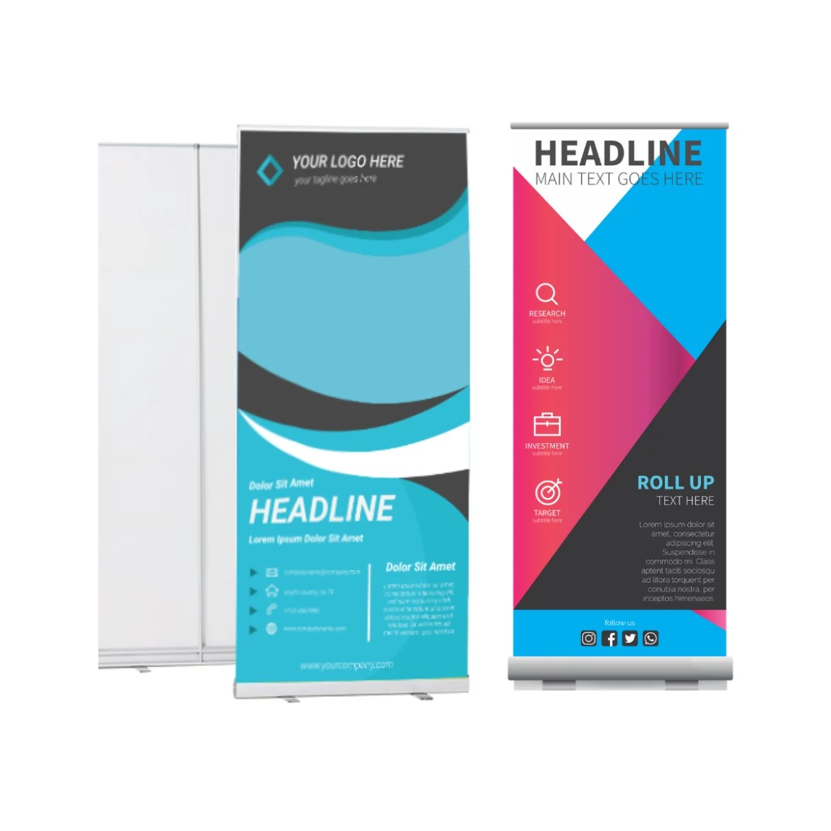 Photo Quality Banner Standee