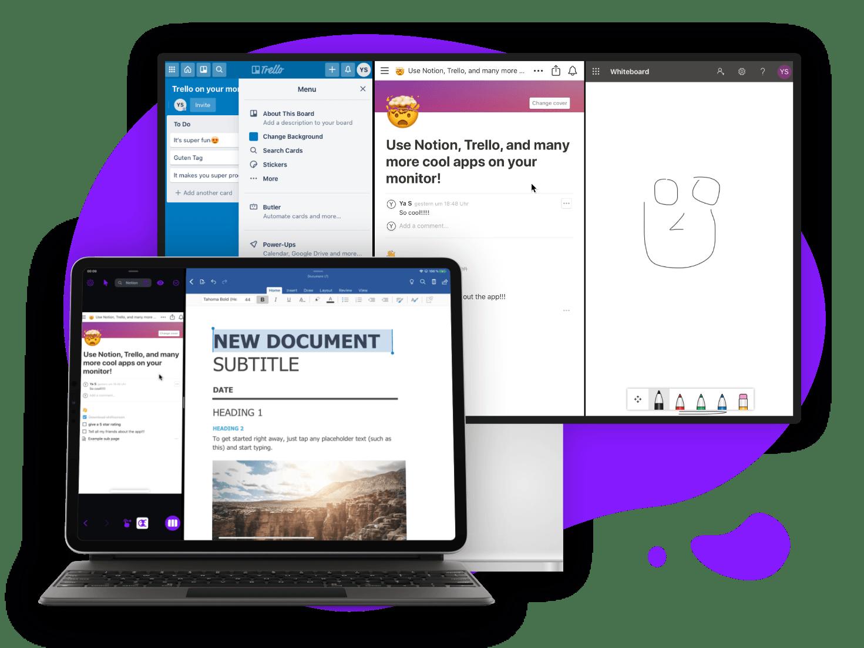 Shiftscreen: gestore monitor esterno per iPad