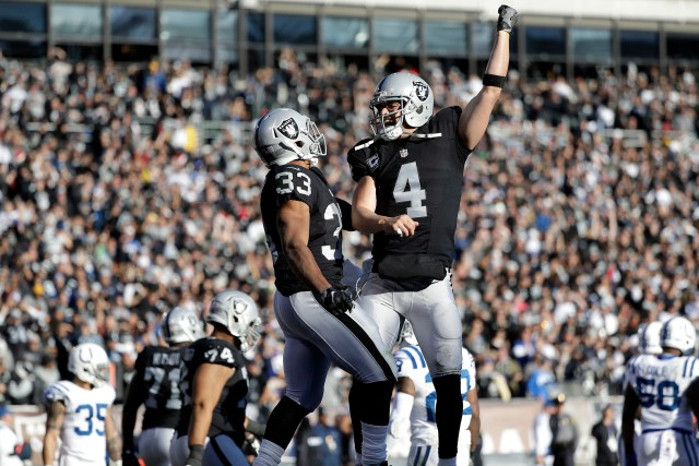 Derek Carr, Silver and Black