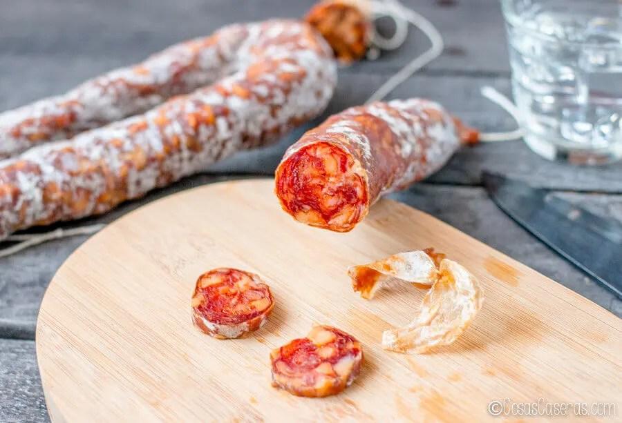 Receta-para-preparar-Chorizo-Espanol-Casero-Curado-Fresco-El-Portal-del-Chacinado