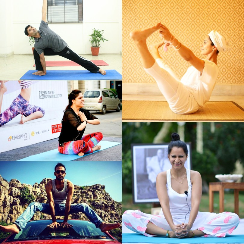yoga teachers in delhi