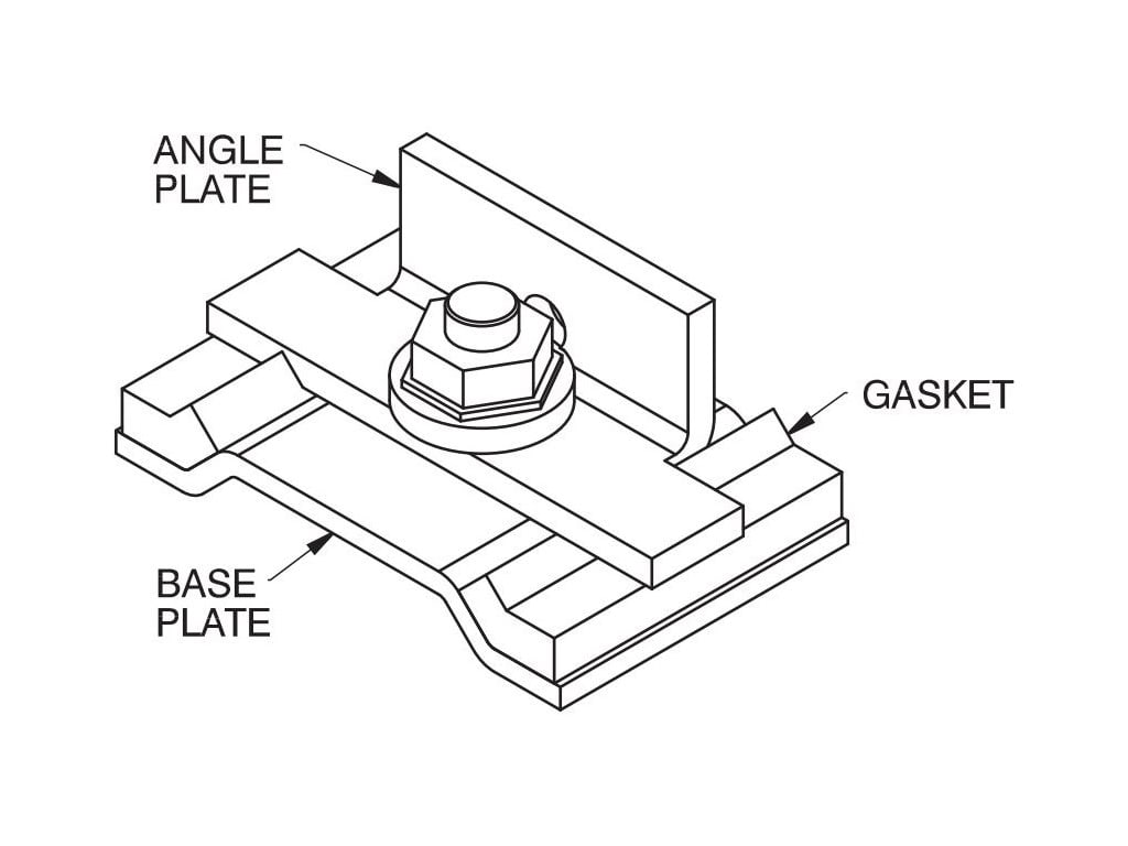 Hammond Ds9 Angle Sealing Plate S9 Series