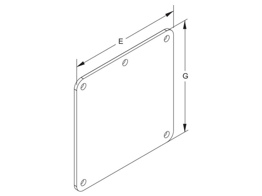 Hammond Ch Cover Plate H Series