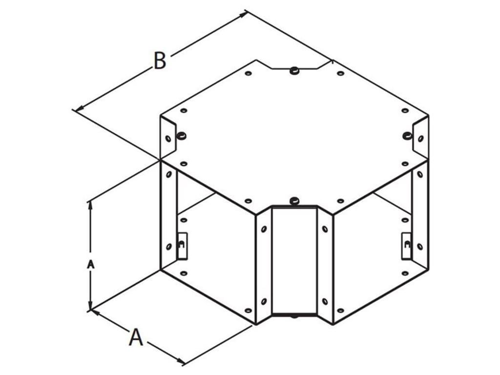 Hammond Cwcf6 Cross Fitting Cwcf Series