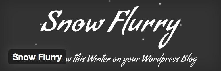 WordPress_›_Snow_Flurry_«_WordPress_Plugins