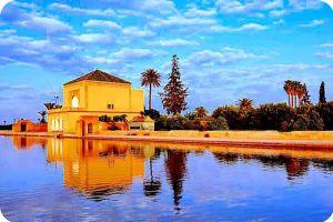 Marrakech Menara Garden Morocco