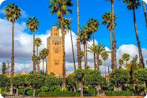 Koutoubia Menaret Marrakech