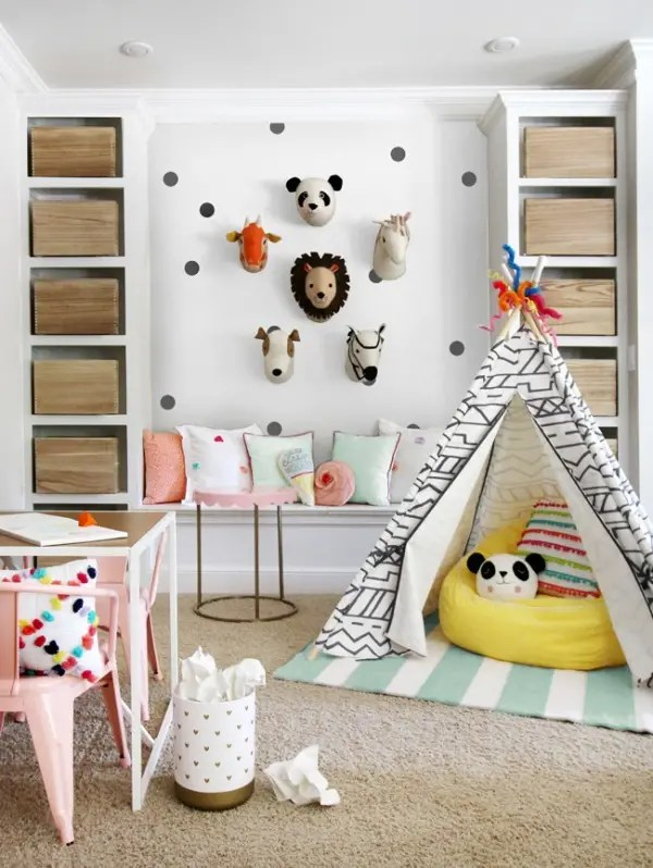 Playroom Makeover Ideas