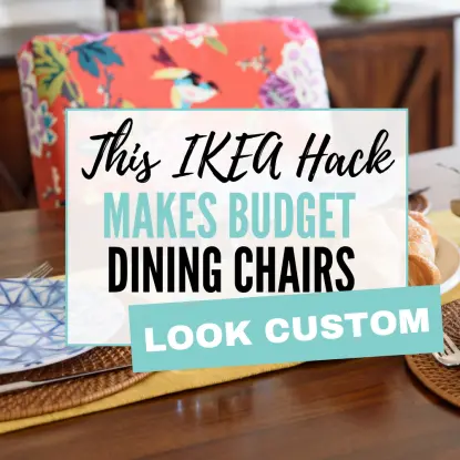 dining chair ikea hack
