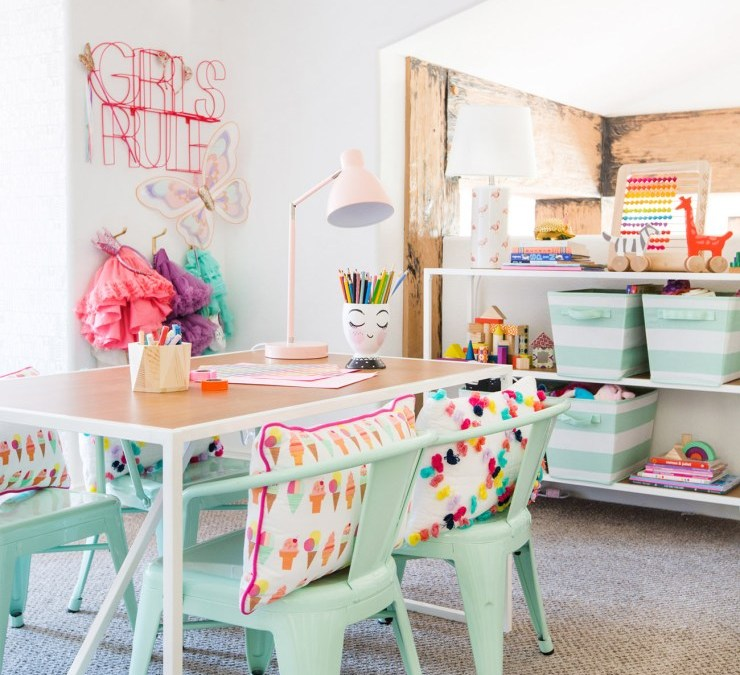 Colorful Kids Room Design: 10 Amazing Kids Playroom Makeover Ideas You'll LOVE