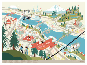 Portland Print, from Edward Juan, available at buyolympia.com