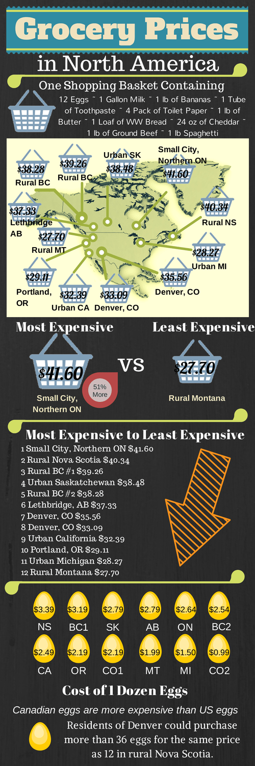 Grocery Prices in North America 1