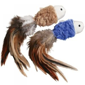 Cat toy feather