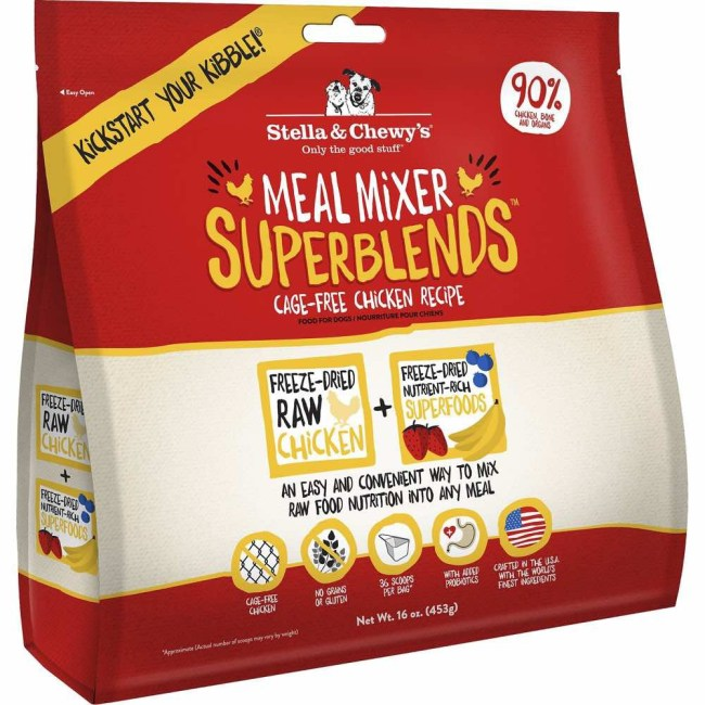 stella-chewys-meal-mixer-superblends-cage-free-chicken-freeze-dried-raw-dog-food