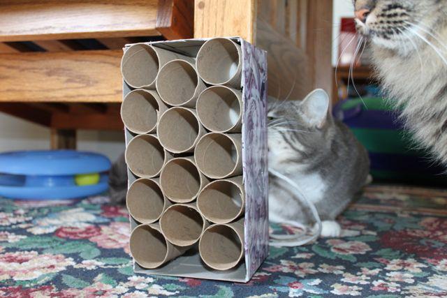 diy cardboard tubes