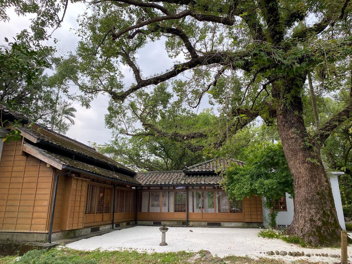 宜蘭設治紀念館日式庭園