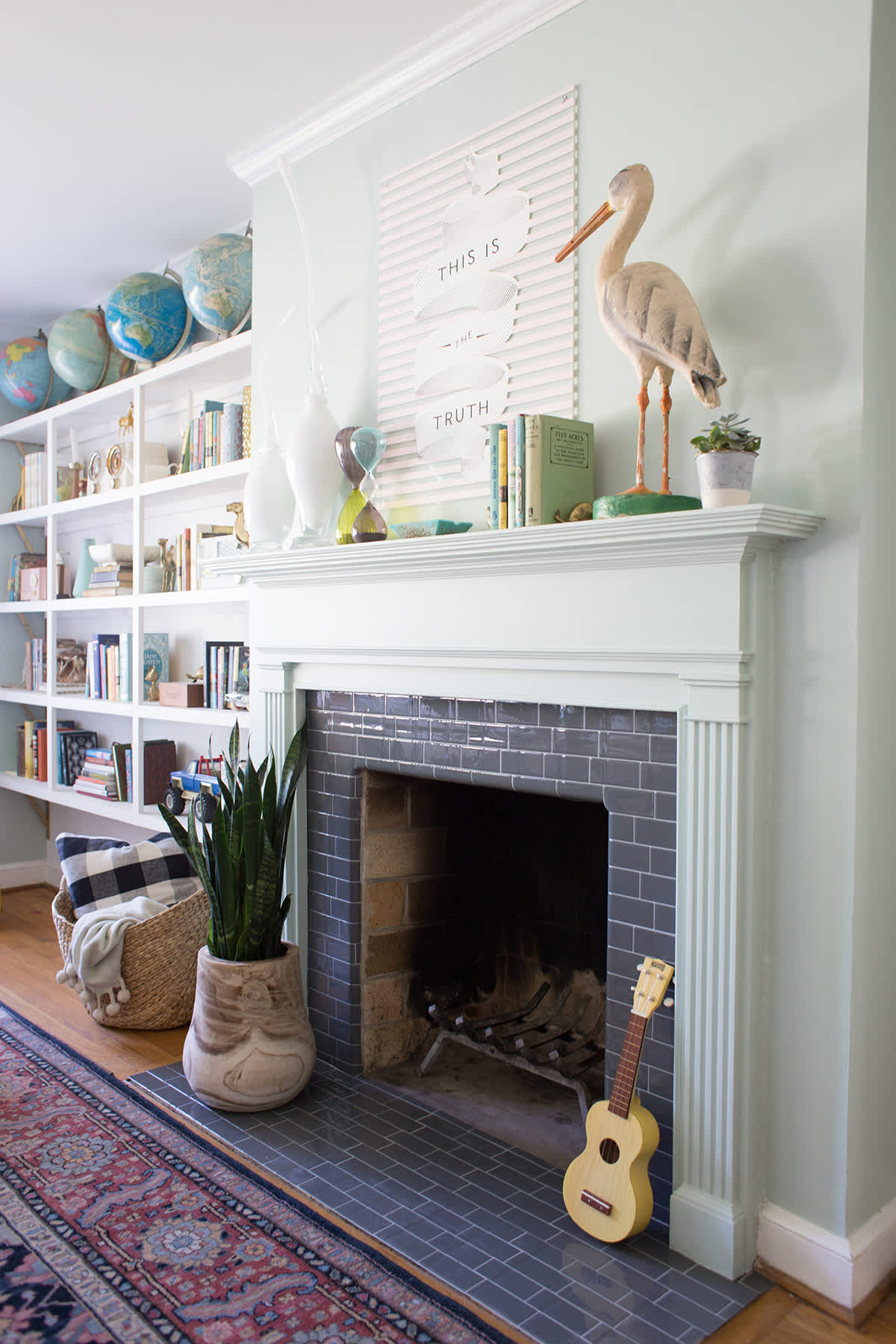 A Quick And Easy Fireplace Makeover