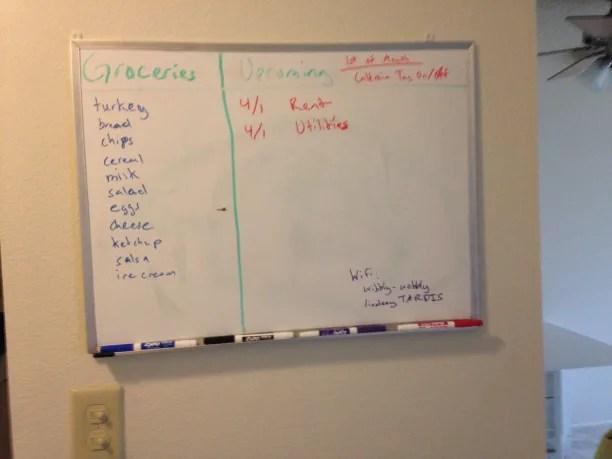 The Whiteboard of Doom
