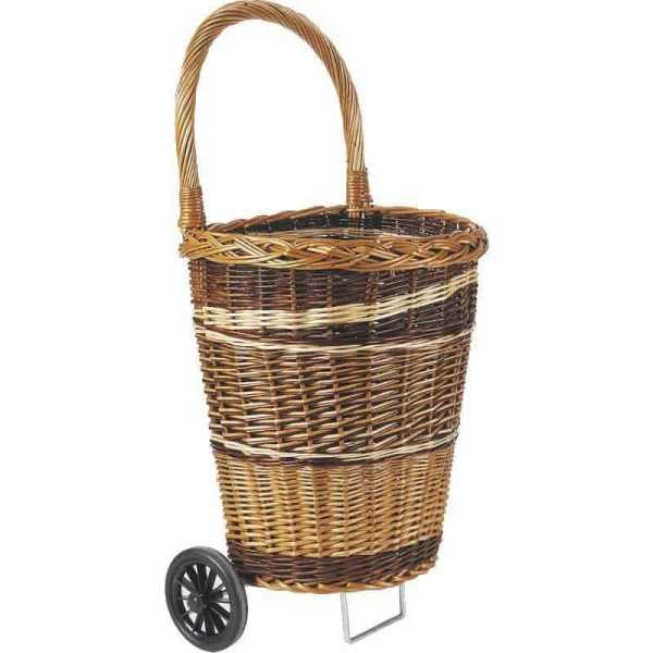 Caddy à roulette, chariot à provisions, sans couvercle