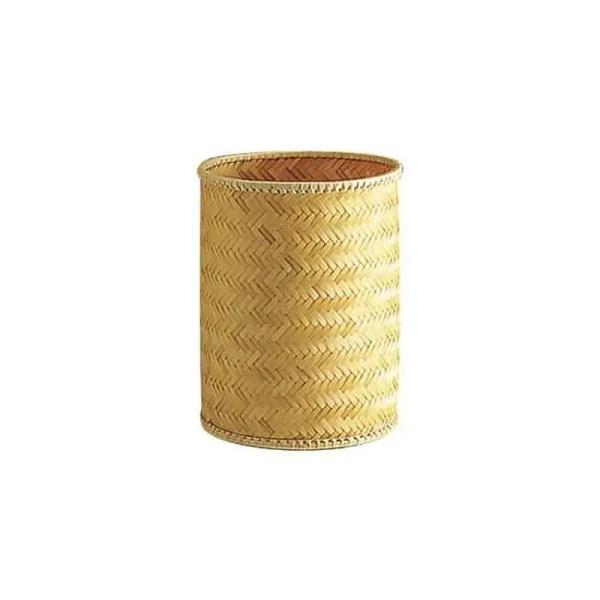 Corbeille à papier en bambou