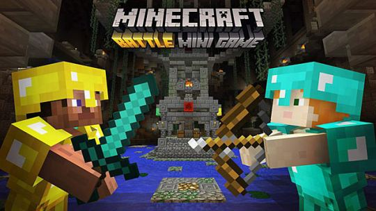 Minecraft Console Mini Games Guide  Battle Mini Game   Minecraft