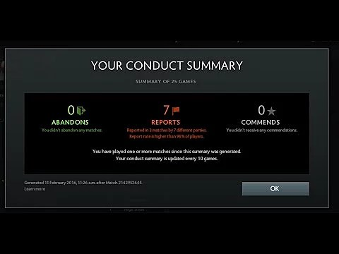 What Is Behavior Score And How To Check It VikingDOTA