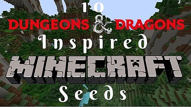10 Dungeons Amp Dragons Inspired Minecraft Seeds Minecraft
